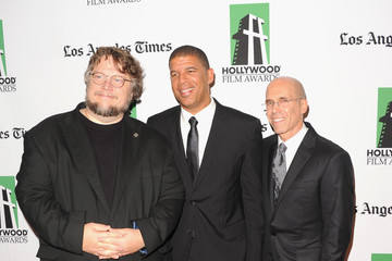 Jeffrey Katzenberg Peter Ramsey 16th Annual Hollywood Film Awards Gala Presented By The Los Angeles Times - Arrivals