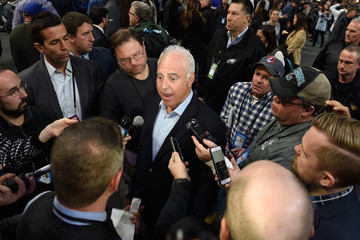 Jeffrey Lurie Super Bowl LII Opening Night at Xcel Energy Center