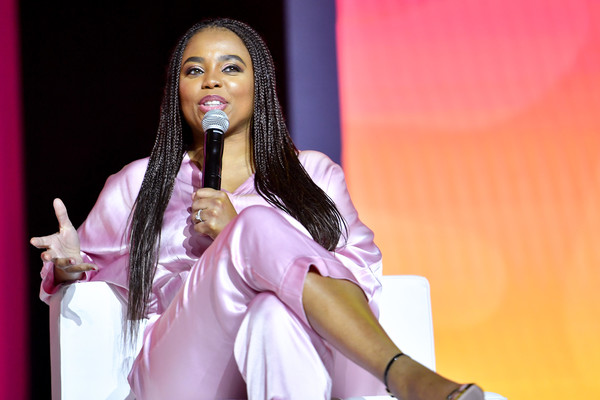 2019 ESSENCE Festival Presented By Coca-Cola - Ernest N. Morial Convention Center - Day 1 [pink,beauty,lady,performance,fashion,black hair,event,talent show,long hair,photography,jemele hill,ernest n. morial convention center,new orleans,louisiana,coca-cola,essence festival]
