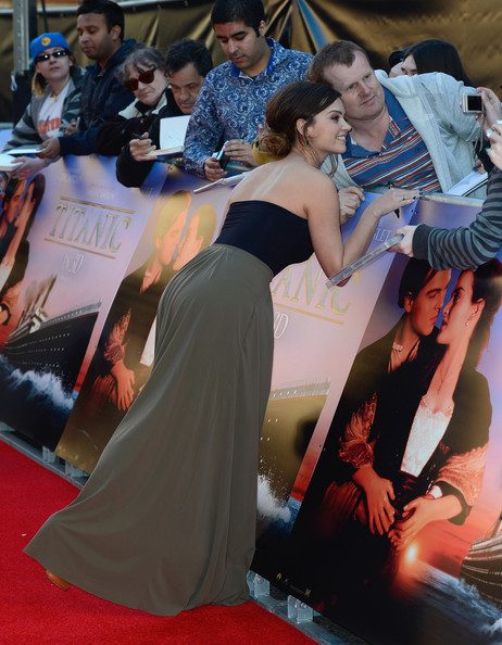 The Red Carpet at the 'Titanic 3D' Premiere