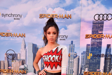 Jenna Ortega Premiere of Columbia Pictures' 'Spider-Man: Homecoming' - Arrivals