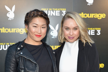 Jenna Ushkowitz 'Entourage' Advance Screening at the Playboy Mansion