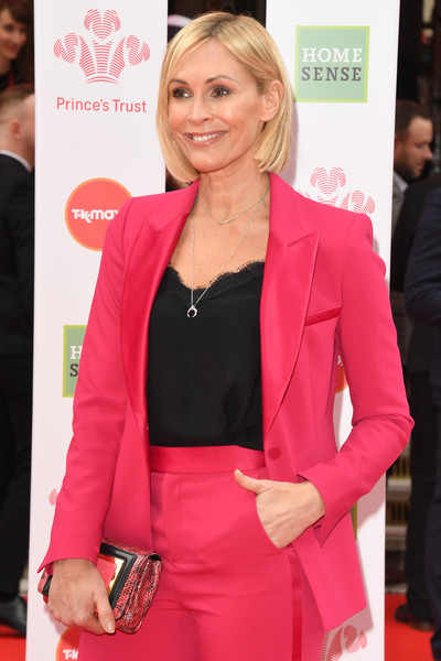 The Prince's Trust And TK Maxx & Homesense Awards 2020 [hair,pink,hairstyle,clothing,outerwear,blond,blazer,carpet,fashion,suit,jenni falconer,tk maxx homesense awards,red carpet,celebrity,hair,hairstyle,pink,london palladium,england,princes trust,celebrity,red carpet,hair m,socialite,supermodel,red,long hair,tuxedo m.,the princes trust]