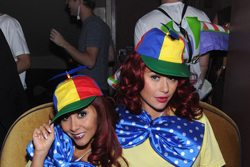 "Jenni Farley Snooki And JWoww Halloween Event:  ""Night Of The Living Drag"" - Inside"