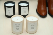 Candles on display at Dinner to Celebrate Jenni Kaynes Tribeca Boutique with Amy Astley and Meredith Melling at 20 Harrison Street on November 15, 2017 in New York City.