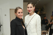 Alexi Ashe and Sylvana Ward Durrett attend Dinner to Celebrate Jenni Kaynes Tribeca Boutique with Amy Astley and Meredith Melling at 20 Harrison Street on November 15, 2017 in New York City.