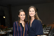 Alexi Ashe and Lauren Bush Lauren attend Jenni Kayne & Martha Stewart Dinner To Celebrate The Launch Of Pacific Natural on March 19, 2019 in New York City.