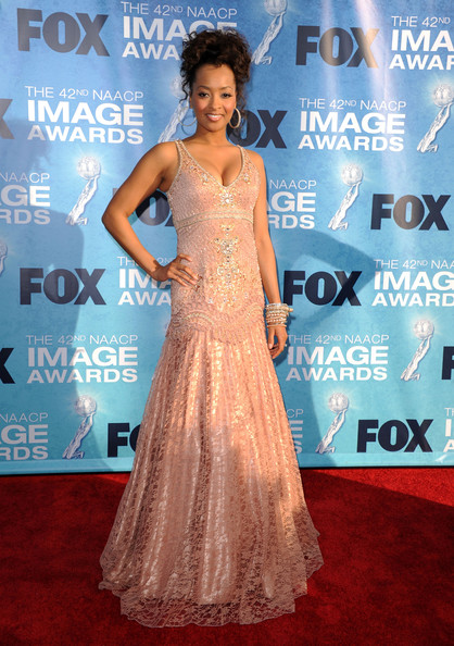 Jennia Fredrique - 42nd NAACP Image Awards - Arrivals
