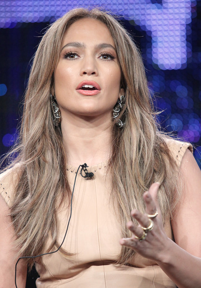jennifer lopez hair color on american idol. hair American Idol judge