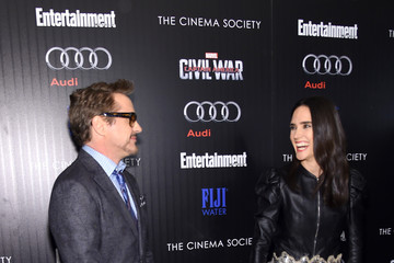 Jennifer Connelly The Cinema Society With Audi & FIJI Host a Screening of Marvel's 'Captain America: Civil War'- Arrivals