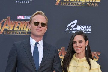 Jennifer Connelly Paul Bettany Premiere Of Disney And Marvel's 'Avengers: Infinity War' - Arrivals