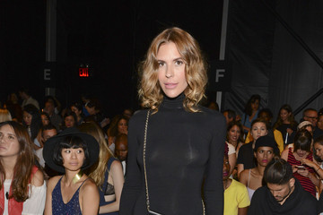 Jennifer Fisher Mara Hoffman - Front Row - Mercedes-Benz Fashion Week Spring 2015