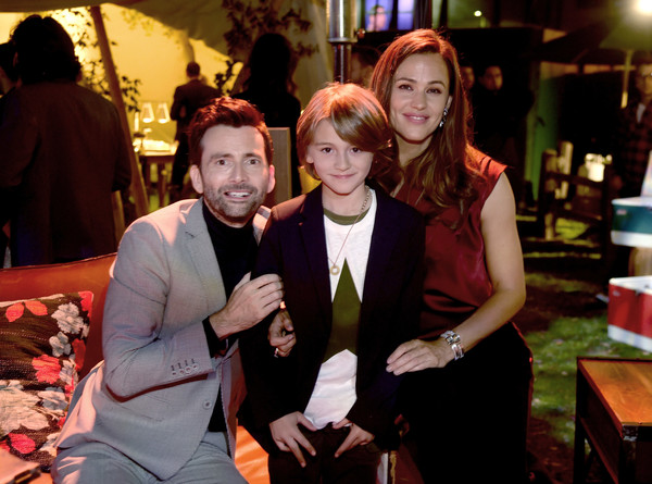 Los Angeles Premiere Of HBO Series 'Camping' - After Party [event,fun,party,restaurant,leisure,ceremony,drink,formal wear,performance,series,jennifer garner,duncan joiner,david tennant,camping,l-r,los angeles premiere of hbo,party,party,premiere]