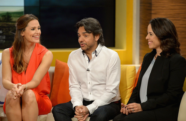 Celebrities on the Set of Telemundo's 'Uno Nuevo Dia'