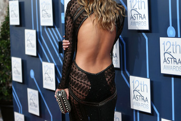 Jennifer Hawkins Arrivals at the 12th ASTRA Awards