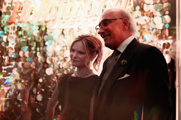 The Hollywood Reporter's 4th Annual Nominees Night - Inside [hollywood reporter,image,photograph,people,event,glasses,smile,photography,ceremony,crowd,vision care,happy,nominees,jennifer jason leigh,jewelry designer,exposures,camera,spago,l,roberto coin]