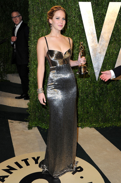 Jennifer Lawrence - 2013 Vanity Fair Oscar Party Hosted By Graydon Carter - Arrivals