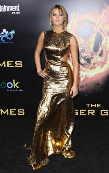 "Jennifer Lawrence - Premiere Of Lionsgate's ""The Hunger Games"" - Arrivals"