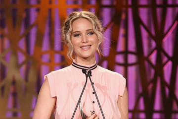 Jennifer Lawrence The Hollywood Reporter's 2017 Women in Entertainment Breakfast - Show