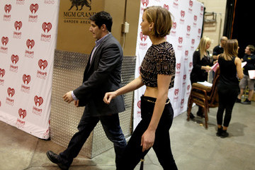 Jennifer Lawrence 2014 iHeartRadio Music Festival - Night 1 - Backstage