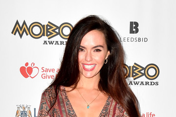Jennifer Metcalfe MOBO Awards - Red Carpet Arrivals