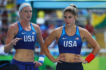 Jennifer Suhr Athletics - Olympics: Day 11