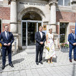 Jens Spahn King Willem-Alexander Of The Netherlands And Queen Maxima Visit Berlin - Day One