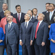 Jens Stoltenberg World Leaders Meet For NATO Summit In Brussels