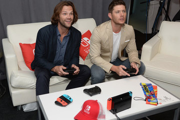 Jensen Ackles Nintendo At The TV Insider Lounge At Comic-Con International 2017