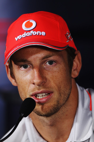 Jenson Button Jenson Button of Great Britain and McLaren Mercedes attends the drivers press conference during previews to the Italian Formula One Grand Prix at the Autodromo Nazionale di Monza on September 9, 2010 in Monza, Italy.