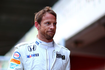 Jenson Button F1 Testing In Barcelona - Day Three
