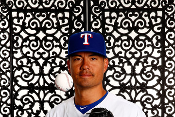 Jeremy Guthrie Texas Rangers Photo Day