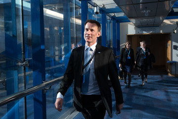 Jeremy Hunt The Conservative Party Conference 2016 - Day Two