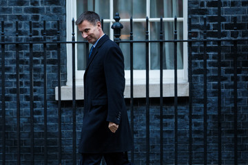 Jeremy Hunt Government Ministers Attend Cabinet After Conference Season Recess