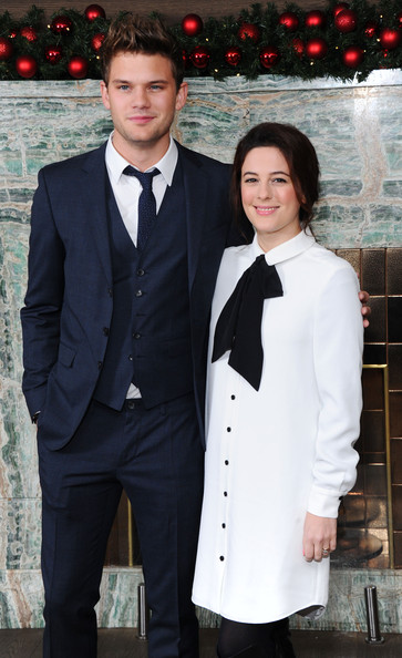 London Critics Circle Film Awards Nominations [london critics circle film awards,suit,formal wear,clothing,tuxedo,uniform,outerwear,event,tie,blazer,smile,london,england,may fair hotel,jeremy irvine,phoebe fox]