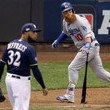 Jeremy Jeffress League Championship Series - Los Angeles Dodgers vs. Milwaukee Brewers - Game Two
