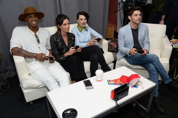 Jeremy Jordan Nintendo At The TV Insider Lounge At Comic-Con International 2017