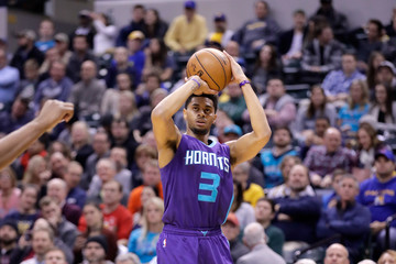 Jeremy Lamb Charlotte Hornets v Indiana Pacers