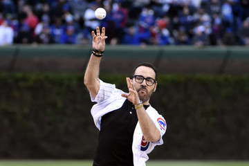 Jeremy Piven Philadelphia Phillies v Chicago Cubs