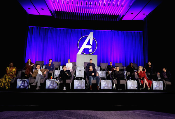 Marvel Studios' 'Avengers: Endgame' Global Junket Press Conference