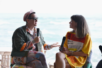 Jeremy Scott In Conversation: Katie Stout & Jeremy Scott, Hosted by Soho Beach House With Bombay Sapphire During Art Basel Miami 2017