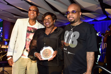 Jermaine Dupri Black American Music Association And Georgia Entertainment Caucus Hold Inaugural Induction Ceremony For Black Music And Entertainment Walk Of Fame