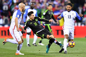 Jermaine Jones Mexico v United States - FIFA 2018 World Cup Qualifier