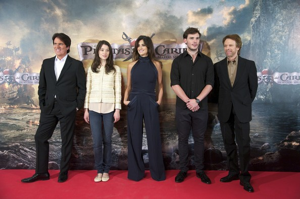 Penelope Cruz Attends 'Pirates Of The Caribbean: On Stranger Tides' Photocall in Madrid