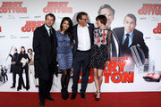 (L-R) Actors Christian Ulmen, Monica Cruz, Christian Tramitz and Christiane Paul attend the German premiere of 'Jerry Cotton' on February 28, 2010 in Munich, Germany.