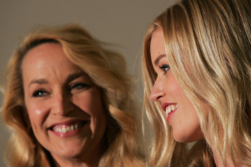 Jerry Hall Georgia May Jagger Jerry Hall & Georgia May Jagger Attend Product Launch At Myer