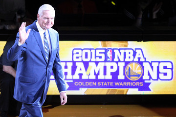 Jerry West New Orleans Pelicans v Golden State Warriors