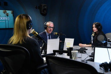 Jess Cagle Abigail Spencer Visits The SiriusXM Hollywood Studio