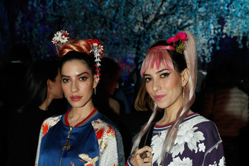 Jess Origliasso Camilla - Front Row - Mercedes-Benz Fashion Week Australia 2018