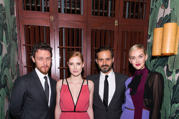 """Jess Weixler Jessica Chastain Prada And The Cinema Society Host A Screening Of The Weinstein Company's """"The Disappearance Of Eleanor Rigby"""" - After Party"""